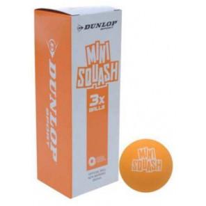 Bolas Mini Squash Dunlop x3