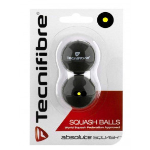 Bolas Squash Tecnifibre Blíster x2