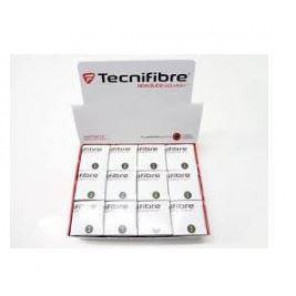 Bolas Squash Tecnifibre Caja Doble Amarillo x12