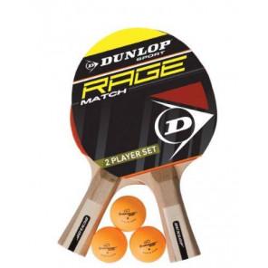 Dunlop Rage match Set 2 Palas Tenis Mesa