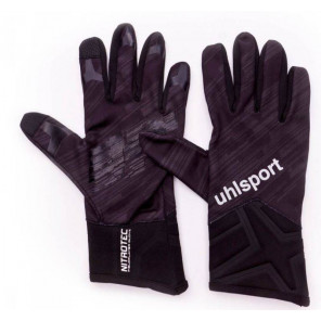 Uhlsport Guantes Futbol Nitrotec Fieldplayer Glove negro/antracita