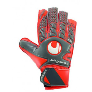 Uhlsport Guantes portero Aerored Soft ADVANCED Talla 7