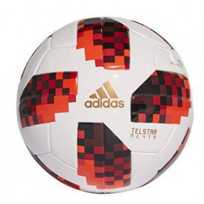 Balón Cup Knockout Mini adidas Fútbol White/Solar Red/Black