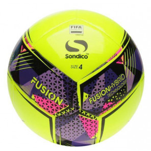 Balón Fusion FIFA Sondico Amarillo Talla 5