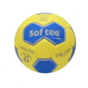Balón Balonmano Softee ADDICTED Amarillo Azul