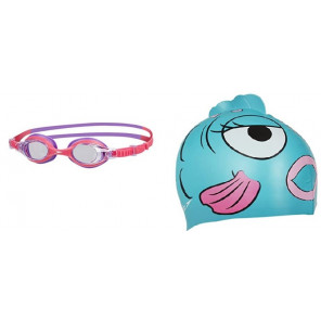 Gafas Gorro Speedo Natación Sea Squad Cap Google Infants