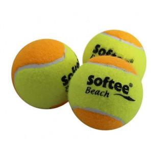 Pelotas Beach Tennis Softee Pack 3 Pelotas