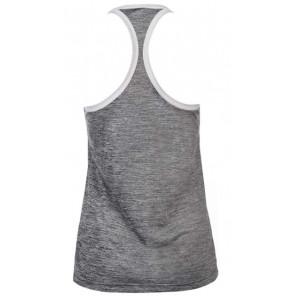 adidas Camiseta Sin Mangas Mujer Tank HI5 Gris Blanco