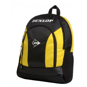 Mochila Tenis Pádel Dunlop Club Negro Amarillo
