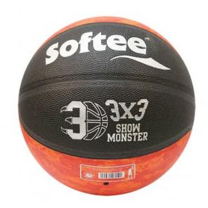 Balón Baloncesto cuero Softee show monster 3x3