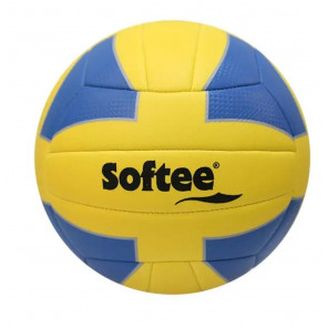 Balon voley softee sun Voley playa amarillo/azul