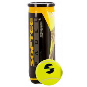 Pelotas Pádel Softee Speed 1x3