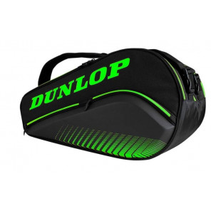 Paletero Pádel Dunlop Elite Negro Verde