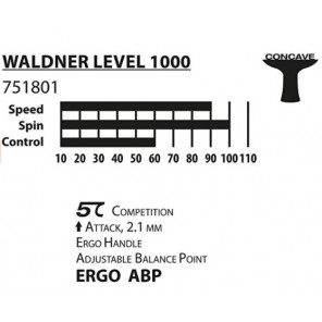Pala Tenis Mesa Donic Schildkrot Waldner Line 1000