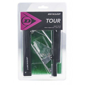 Set Red y Poste de Tenis Mesa Dunlop Tour