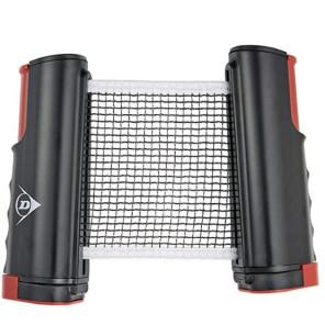 Set Red y Poste ROLLER de Tenis Mesa Dunlop