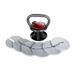 Pesas Rusas Kettlebell Softee Regulable 18 Kg