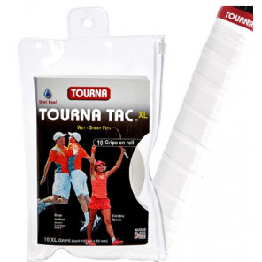 Overgrip TOURNA TAC XL x10 Blanco