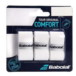Overgrip Babolat pro Tour 3 pack Blanco
