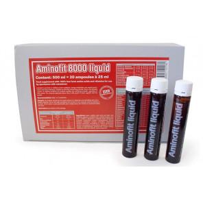 Aminofit 8000 Liquido Ampollas 22 ml Caja 20u.
