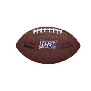 Balón Fútbol Americano Wilson NFL 100 Mini replica