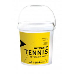 Pelotas Tenis Dunlop TRAINING Cubo 60u