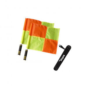 Juego 2 banderines Arbitro Linier basic