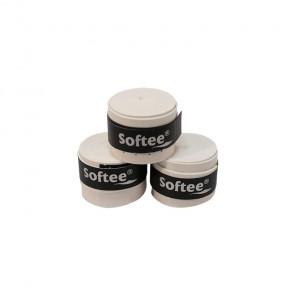 Softee Overgrip Perforados Comfort 3 Unidades Blanco