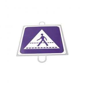 AND TREND Panel de señalizacion trafico de indicacion Paso Peatones
