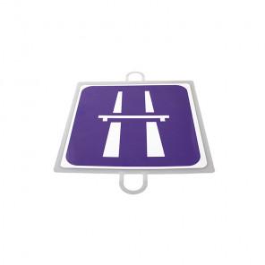 AND TREND Panel de señalizacion trafico de indicacion Autopista