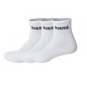 Luanvi Calcetines Blancos 1/2 3 pack