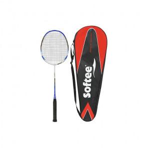 Raqueta badminton softee 10k azul/blanco