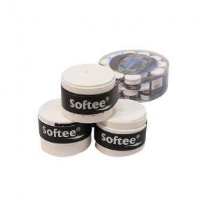 Softee Overgrips Perforados Comfort Blanco Cubo 30
